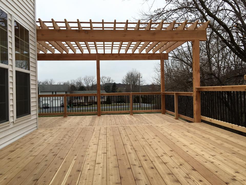 new deck, Middletown, Mechanicsburg & Camp Hill, PA & surrounding areas